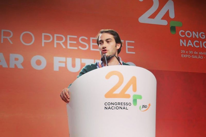 Presidente da JSD Área Oeste apoia Rui Rio nas diretas do PPD/PSD