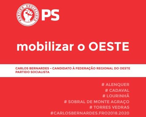 Carlos Bernardes candidato a líder da FRO