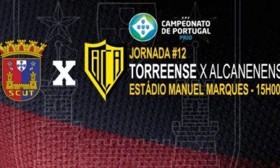 Torreense - Alcanenense hoje às 15h