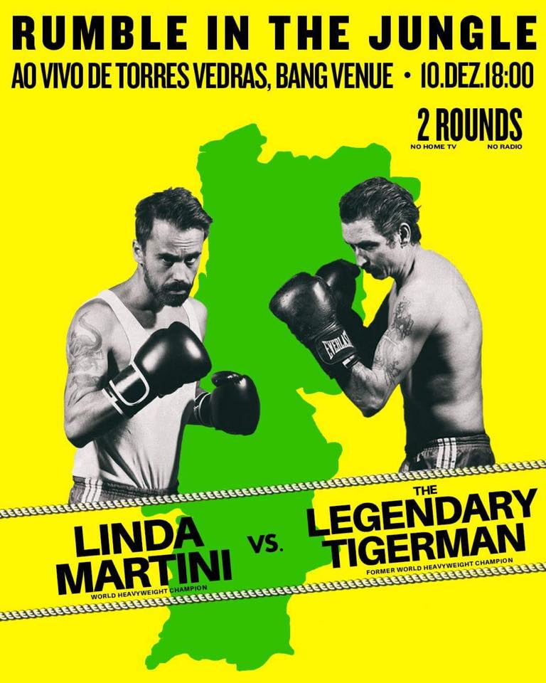 DOMINGO 18h Bang Venue - LINDA MARTINI e LEGENDARY TIGERMAN