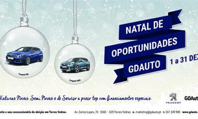O Natal chegou mais cedo à GDAuto em Torres Vedras