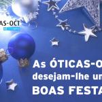 Óticas - OCT desejam um feliz Natal!