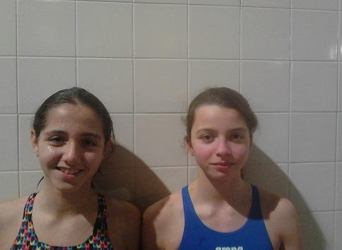 Nadadoras da Física na Seleção de Lisboa