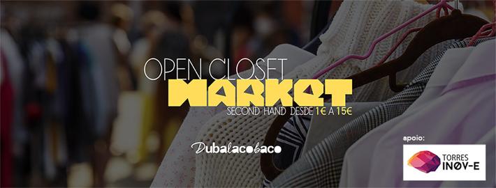 Open Closet Market 3 de Fevereiro em Torres Vedras