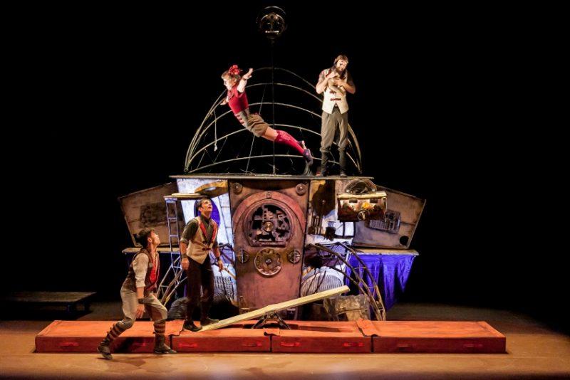 Teatro/Novo Circo no Teatro Cine a 28 Janeiro