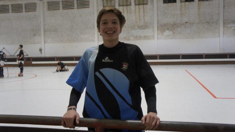 Óscar Porfírio na seleção Sub 15