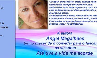 Ângel Magalhães lança livro este sábado