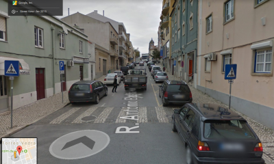 Rua António Batalha Reis encerrada ao trânsito