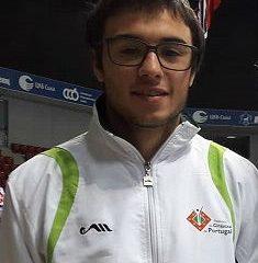 Carlos Pinto na seleção nacional de Tumbling