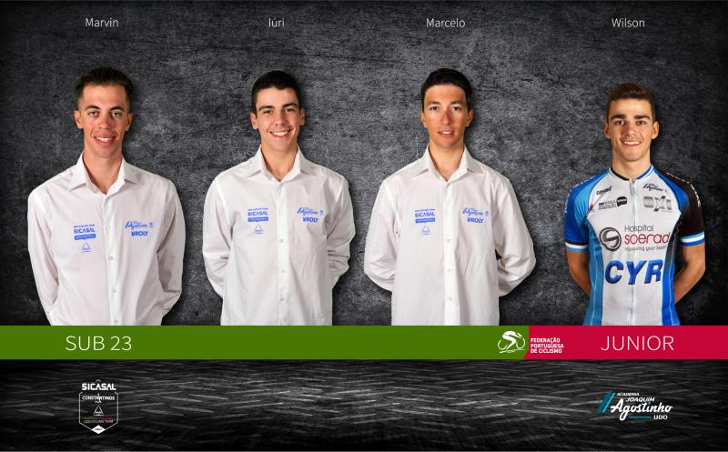 Quatro atletas na órbita da seleção