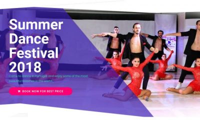Summer Dance Festival de 27 a 29 Julho em Santa Cruz