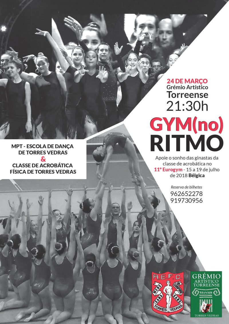 cartaz gymnoritmo