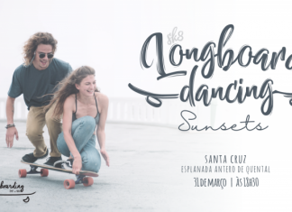 LONGBOARD DANCING SUNSET - Praia de Santa Cruz