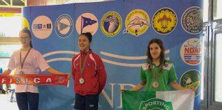 Soraia Salgado vice-campeã em 100 e 200m