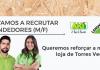 AKI está a recrutar para Torres Vedras