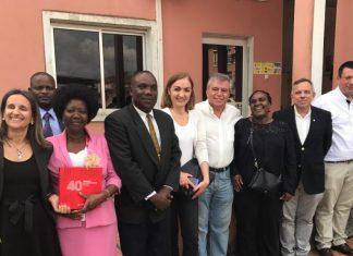SMAS em visita a Angola