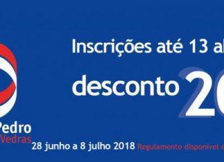 Inscrições Feira São Pedro com 20% desconto até 13 Abril