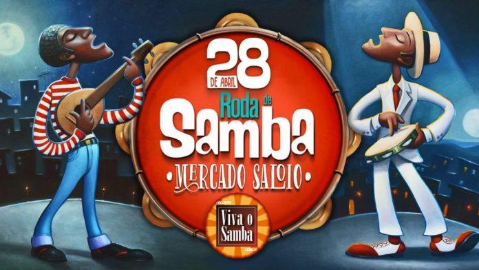 Roda de Samba volta amanhã ao Mercado Saloio
