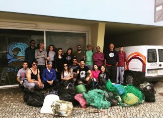 103 KG de LIXO recolhidos hoje na Praia de Santa Cruz
