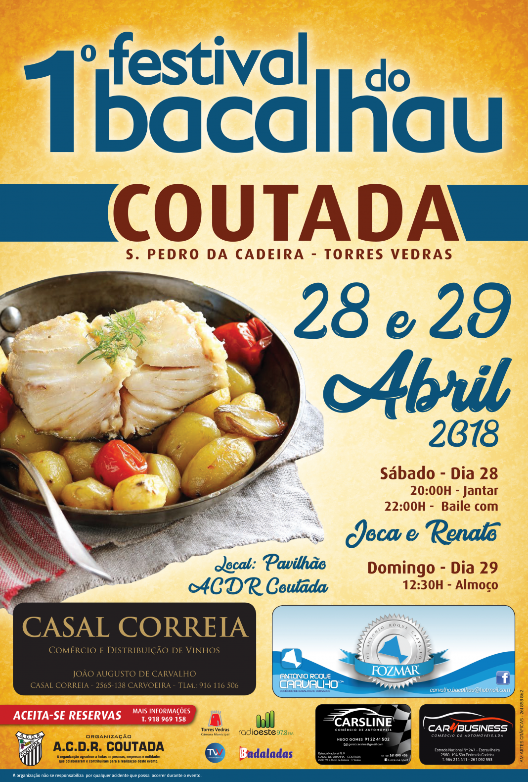 Festival do Bacalhau cartaz