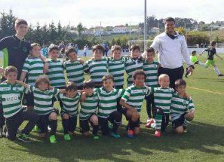 Jogos da Academia Sporting Turcifal do fim de semana