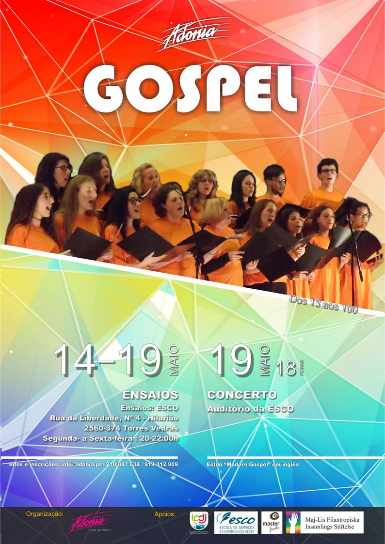 cartaz gospel