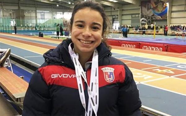 Atleta torriense na selecção nacional de atletismo