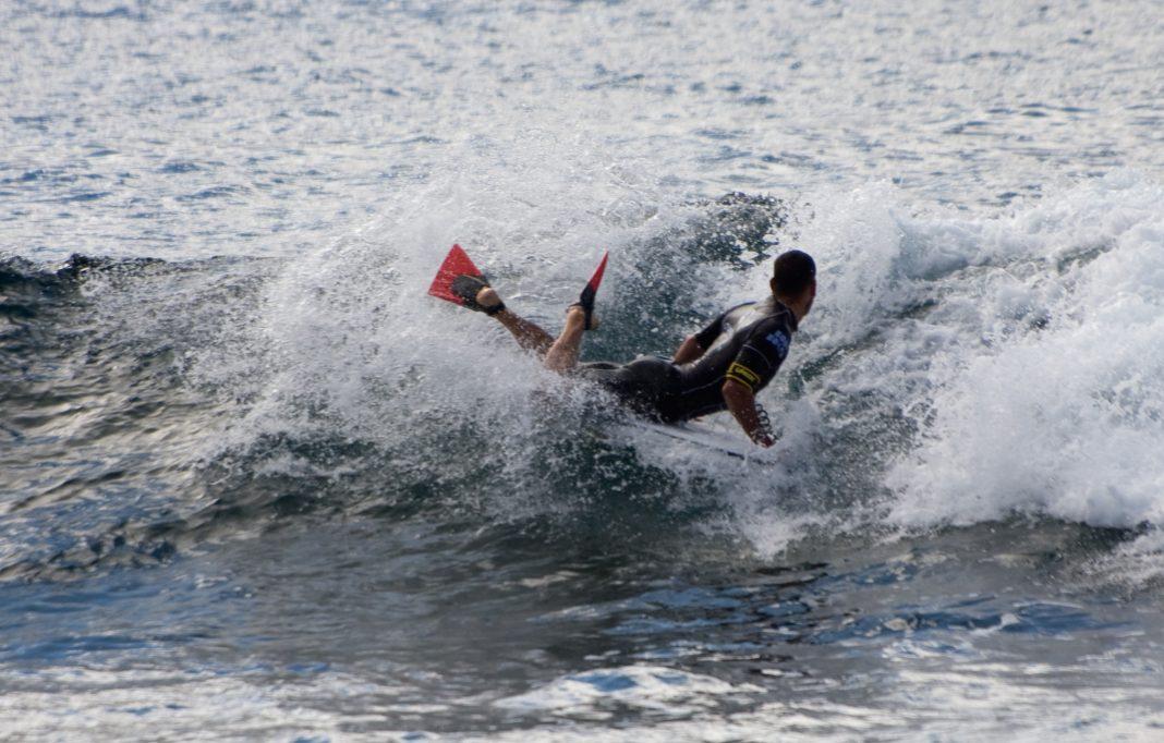 Depois do campeonato de surf chega a vez do bodyboard