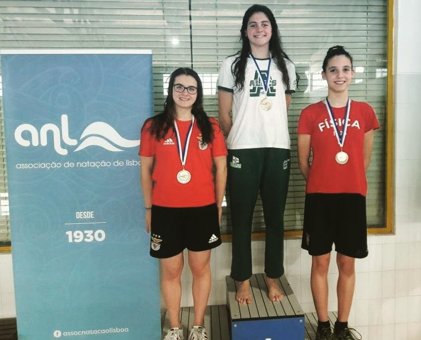 Natação: 3º lugar para Ema Conceição no Torneio de Fundo