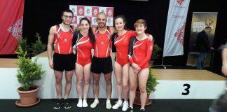 Cinco ginastas daFísica apurados paraas Super Finais em Guimarães