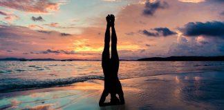 Yoga, mar e sol no próximo Domingo em Santa Cruz