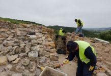 Obras de valorização do Castro Zambujal estão a decorrer