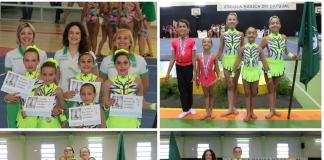 Ginastas do Sporting Clube de Torres conquistam 9 medalhas e top 10 Nacional Infantis