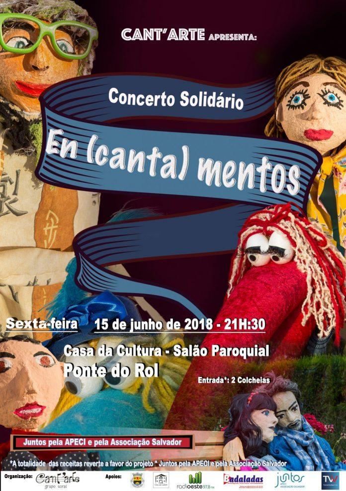 """Concerto Solidário """"Encantamentos"""