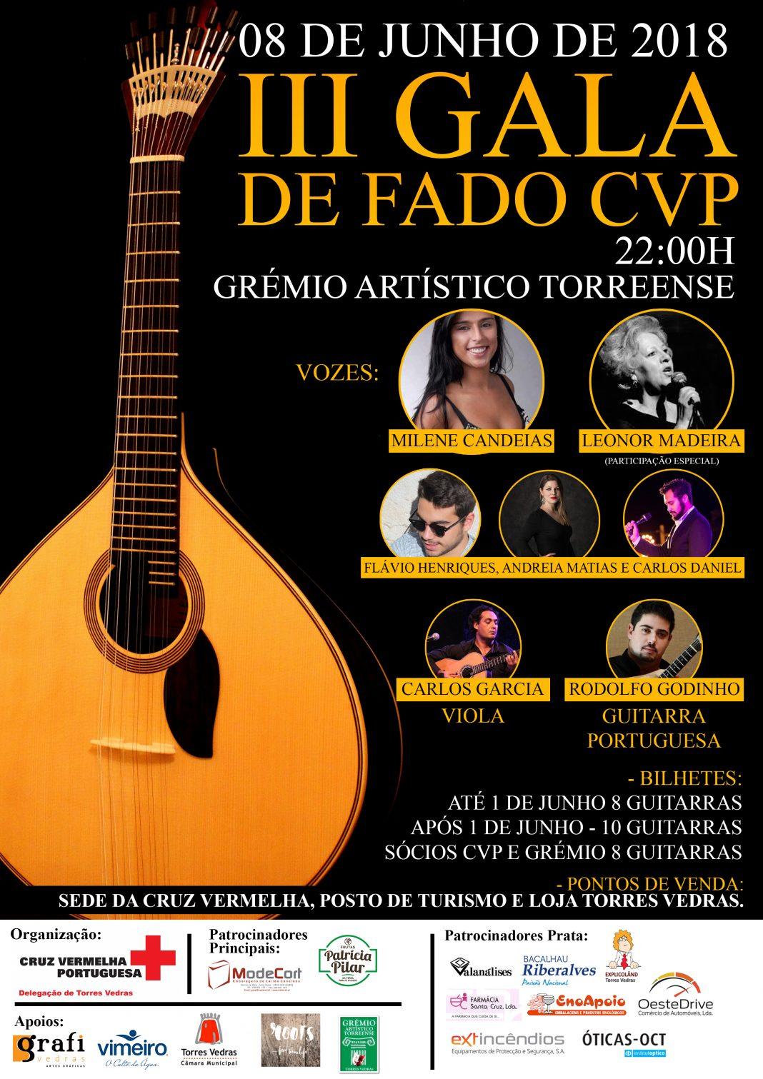 III Gala de Fado - Cruz Vermelha Portuguesa