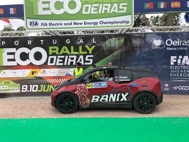 Equipa Banix termina o Portugal Eco Rally em 7º lugar
