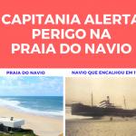 Perigo na Praia do Navio