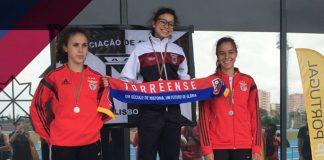 Atleta Juvenil do Torreense vence nos 100m e 300m na Final Nacional do Olímpico Jovem