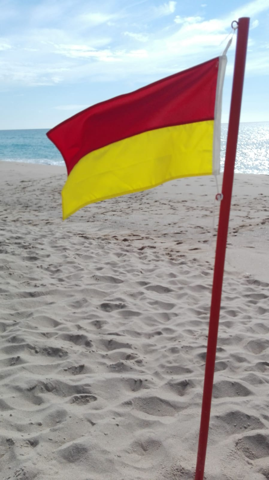Sabe o que significam as novas bandeiras para as praias?