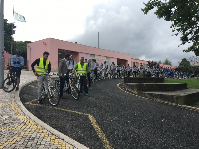 Câmara Municipal organizou acções de sensibilização para a mobilidade sustentável