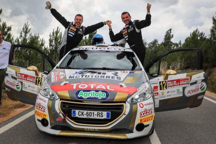 Pedro Antunes vence a Peugeot Rally Cup Ibérica no Rali de Castelo Branco