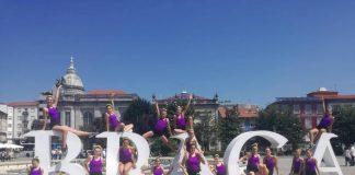 Ginastas do SC. Torres representaram o município no PortugalGym