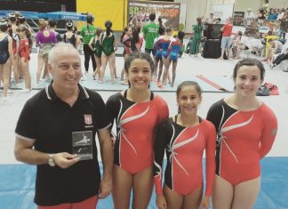 Física alcança 1º lugarpor equipasna VII edição da Scalabis Cup Internacional em Trampolins