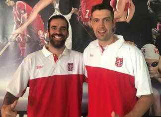 Dois atletas da Física convocadospara o Torneio de Basquetebol para antigos praticantes