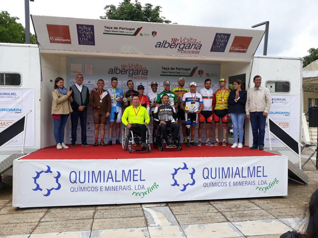 Paraciclistas abriram caminho para Volta a Albergaria