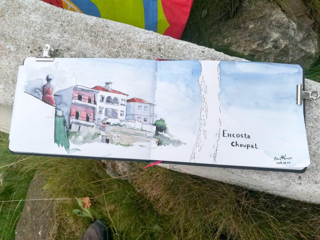 Encosta – Desenho de Rua: o desenho urbano voltou à Encosta de São Vicente