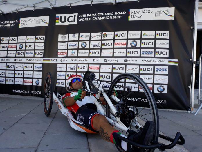 Flávio Pacheco 13.º no contrarrelógio do Mundial de paraciclismo