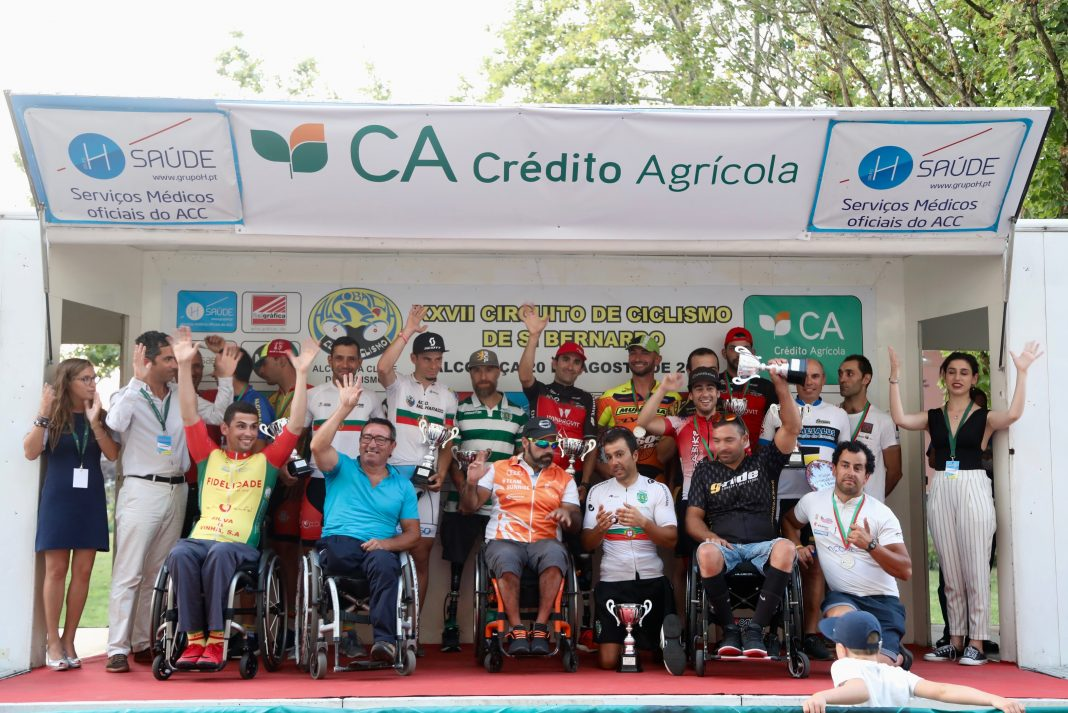 Vencedores da Taça de Paraciclismo coroados em Alcobaça