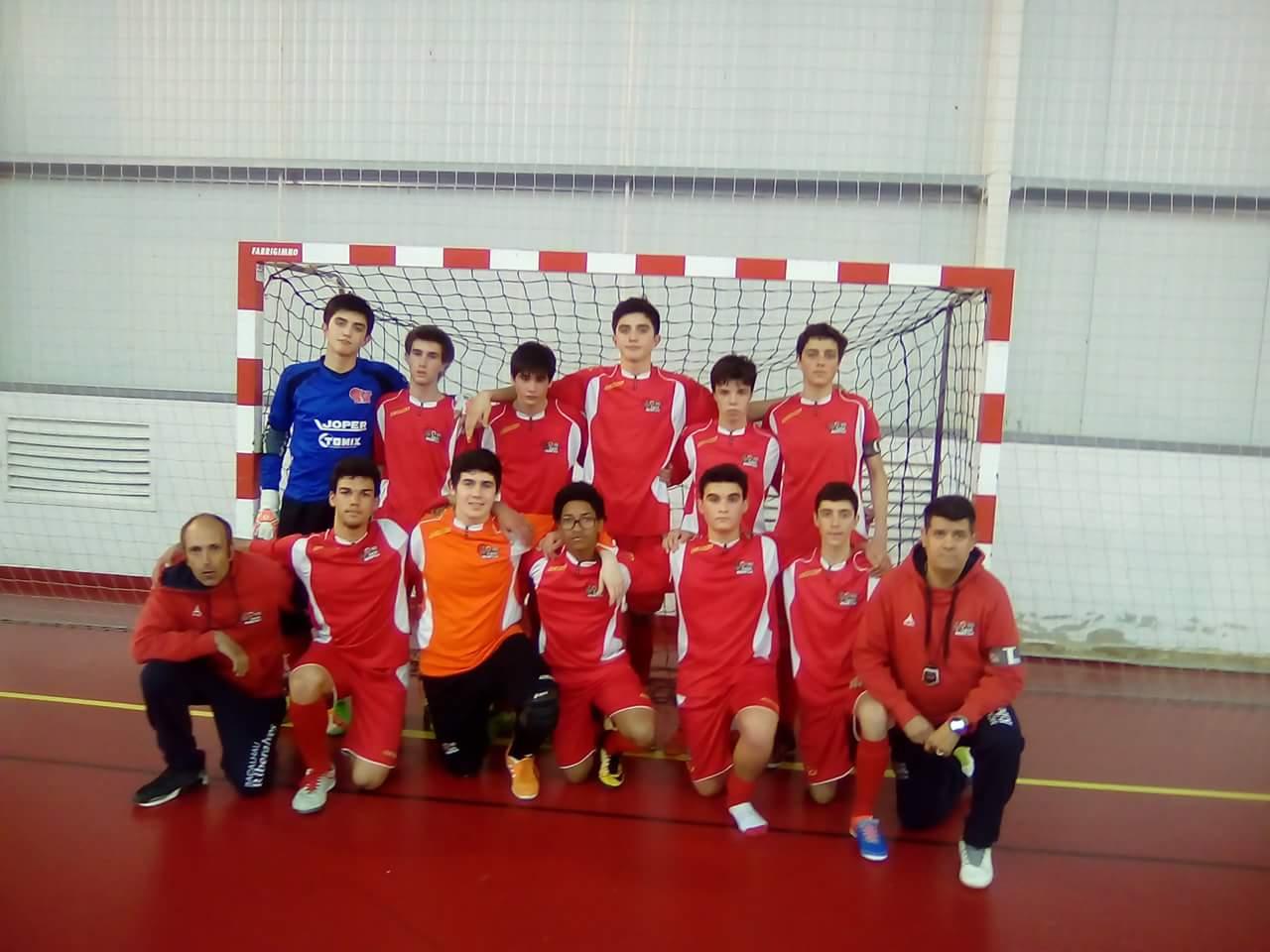 Juvenis da Casa Benfica sobemà primeira divisão distrital da Associação Futebol de Lisboa