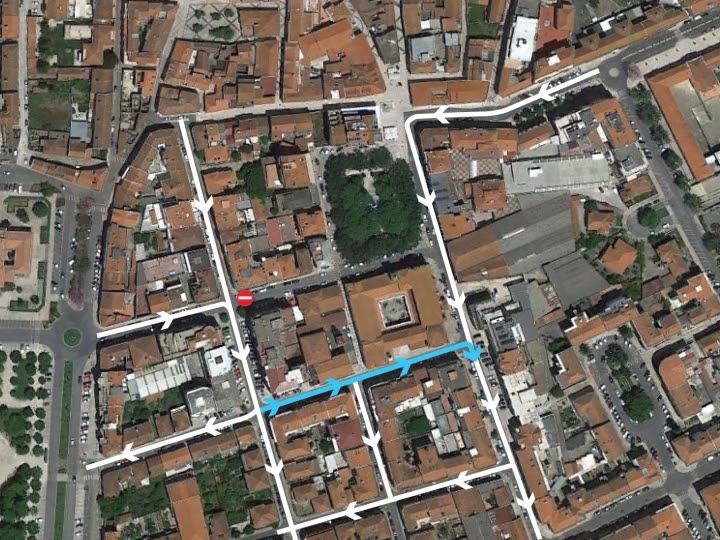 Rua António Batalha Reis cortada ao trânsito no Dia Europeu sem Carros
